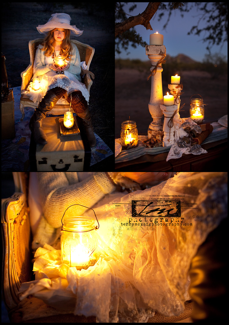 vintage details candles in a jar phoenix wedding photographer