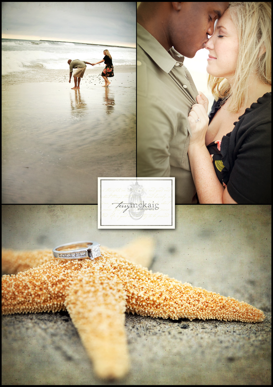 Modern vintage beach engagement photography Phoenix wedding photographer