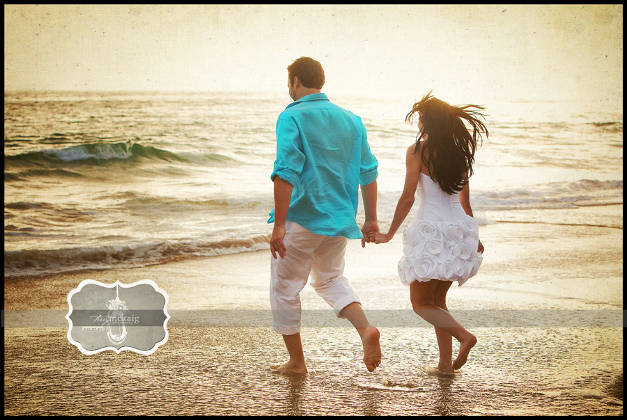 stylized beach engagement phoenix wedding photogapher