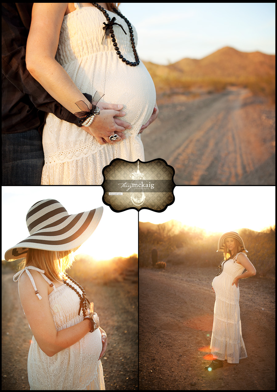 fun maternity photos