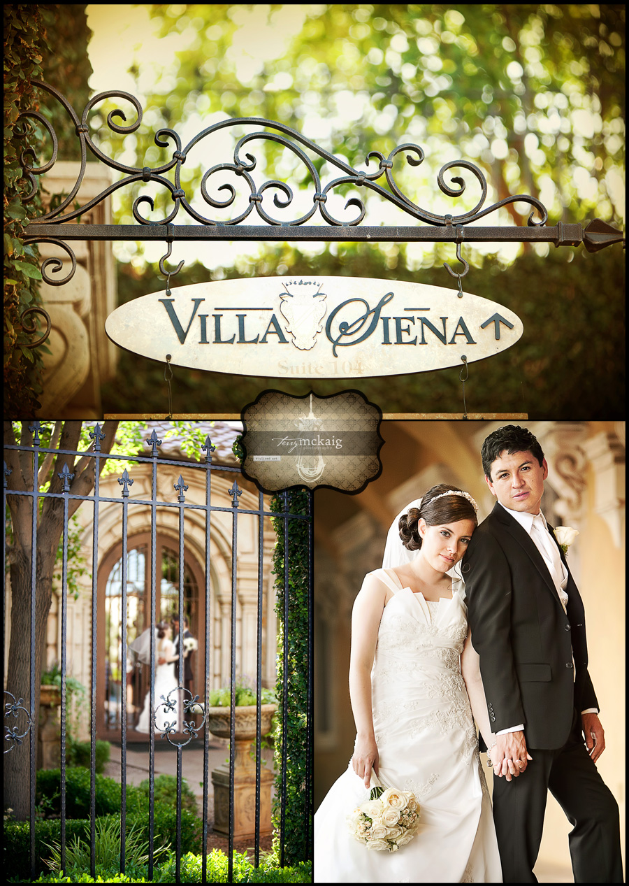 Villa Siena desert wedding Phoenix wedding photographer