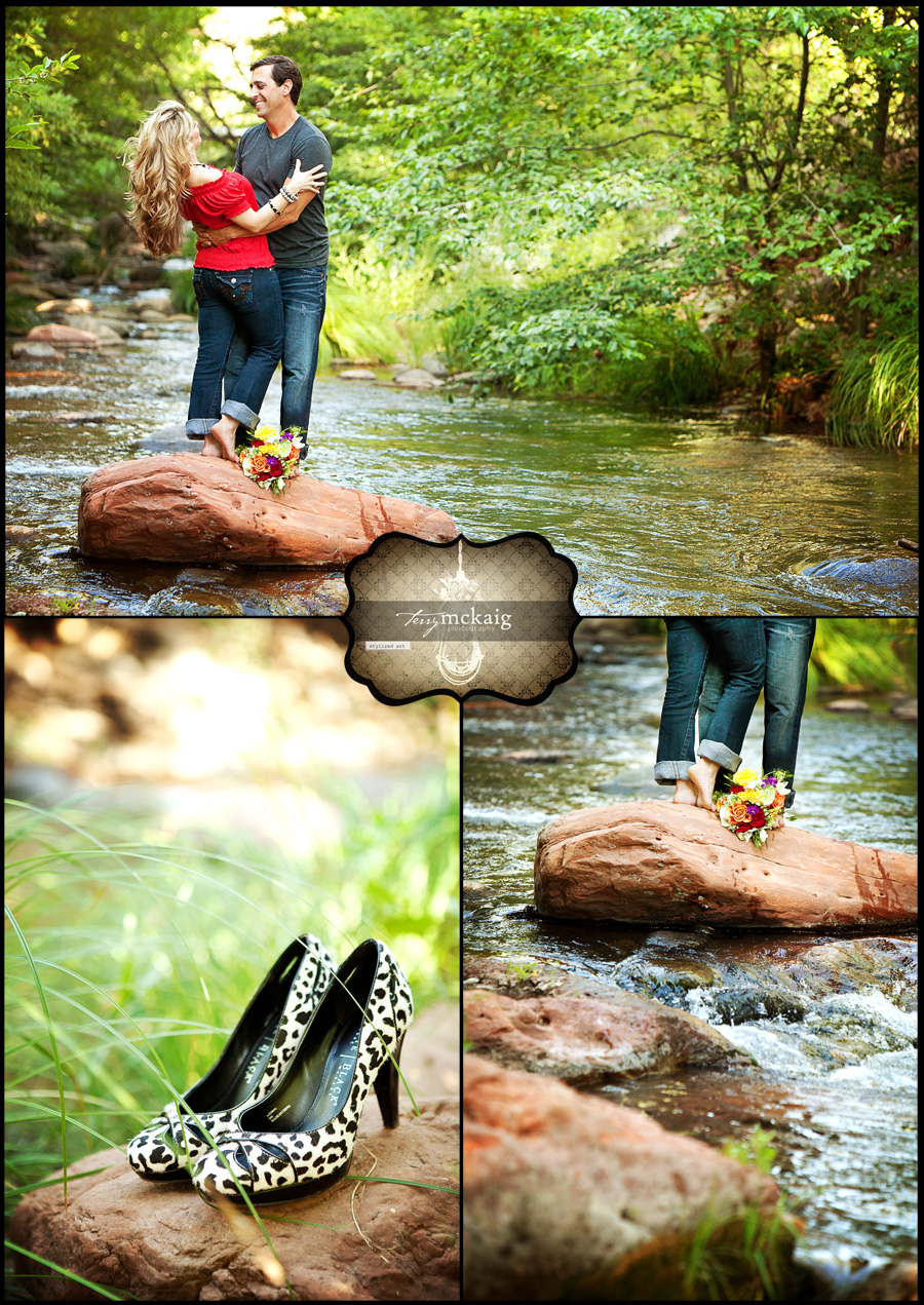 L'Auberge Sedona Engagement session Sedona Engagement Photographer