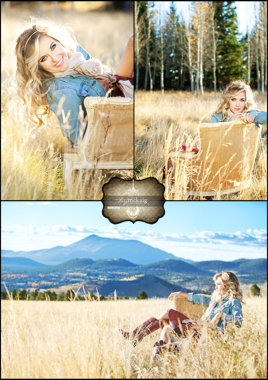 Country senior phoenix senior photography