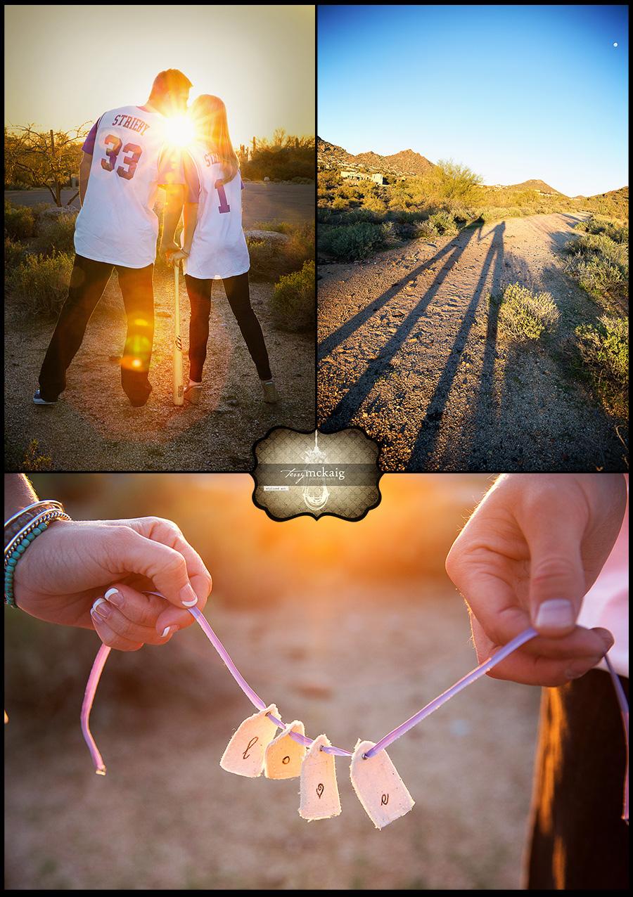 Scottsdale engagement photographer desert engagement