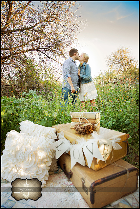 photographer artist vintage engagement phoenix