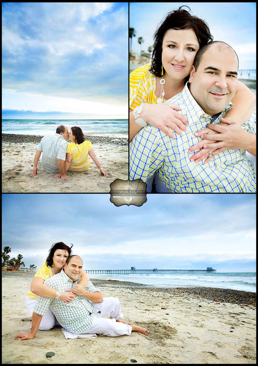 beach engagement phoenix engagement photographer