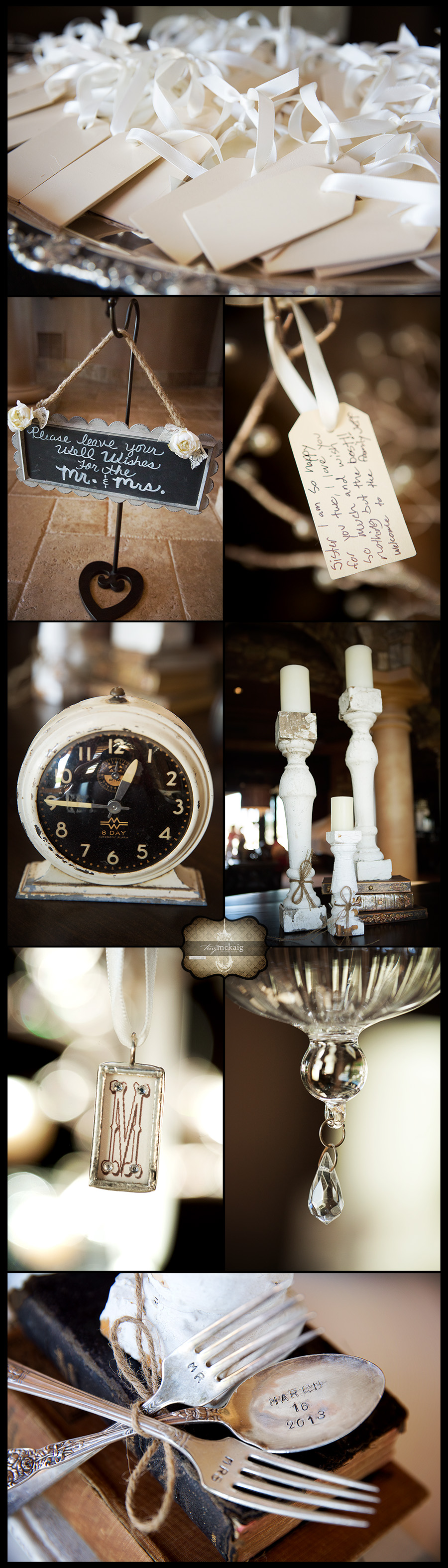 Vintage wedding details phoenix wedding photographer