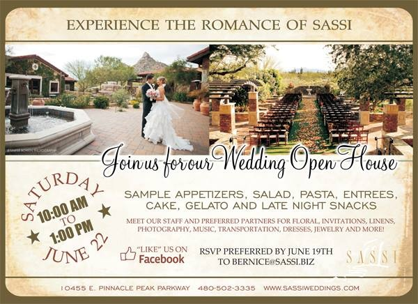 sassi open house june