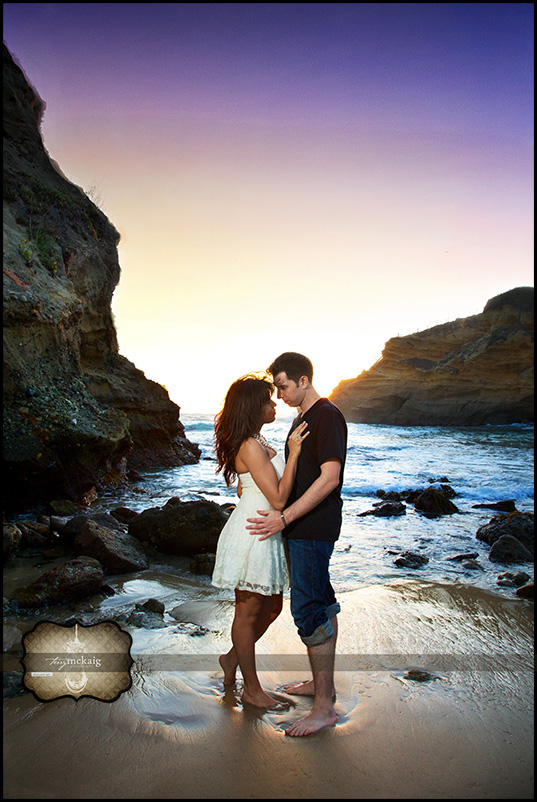Laguna beach engagement Terry McKaig photography
