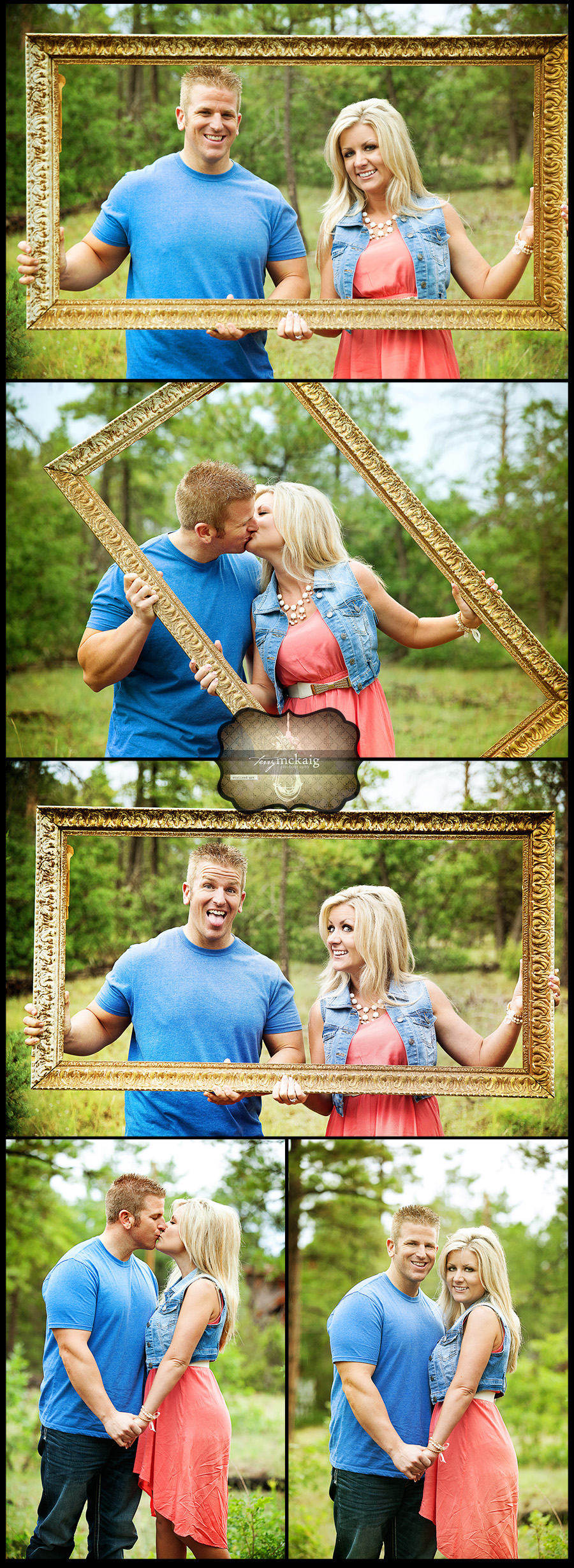 Norther Arizona engagement photographer Terry Mckaig photography