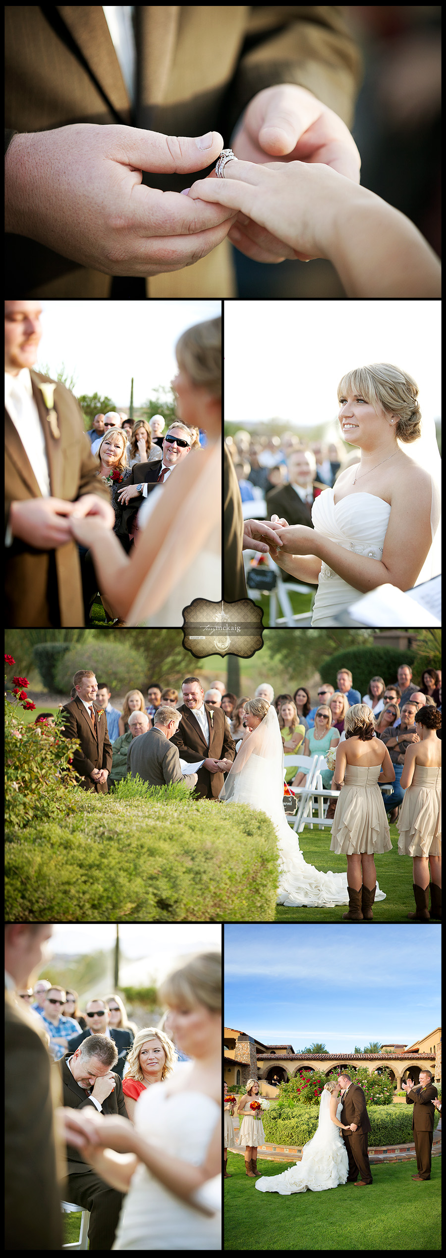 Blackstone Country Club Terry McKaig Photography cowboy boots wedding