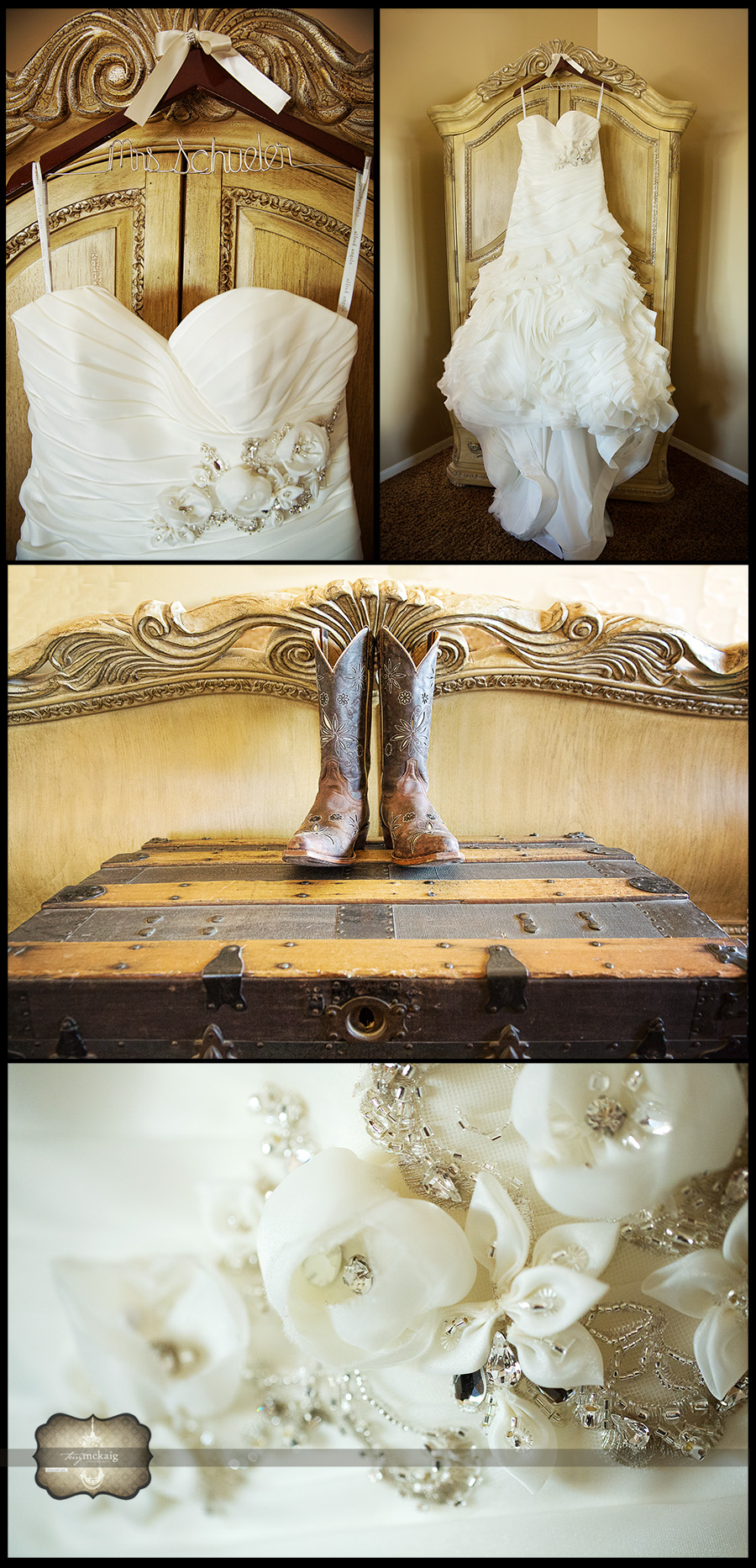 Blackstone country club wedding phoenix wedding photographer cowboy boot wedding