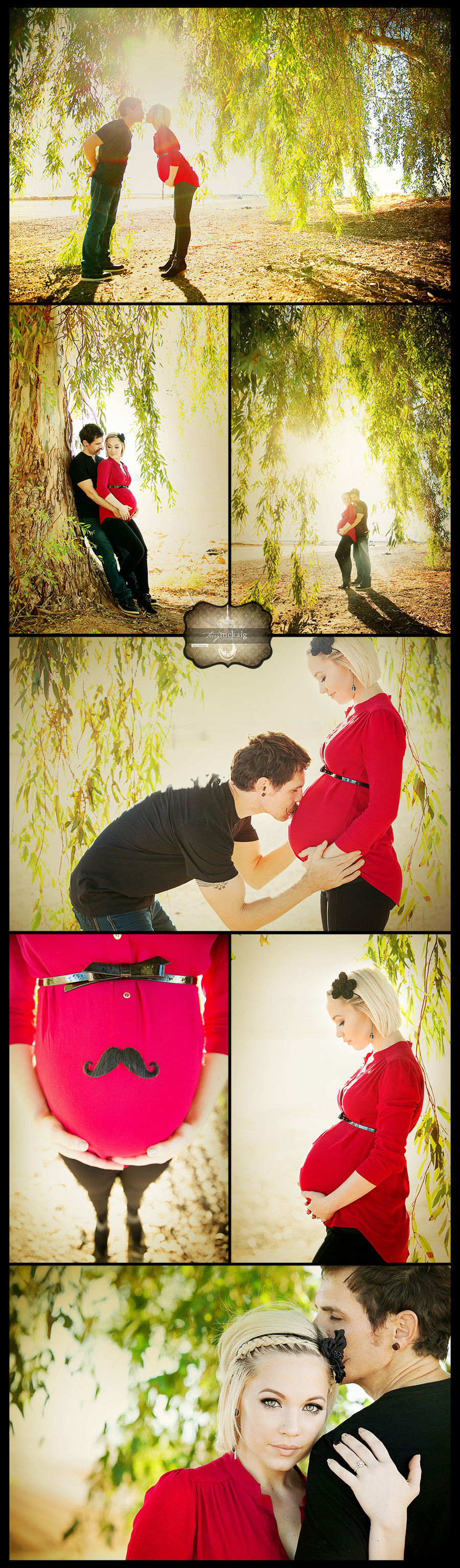 Maternity session in the country Terry McKaig Photography