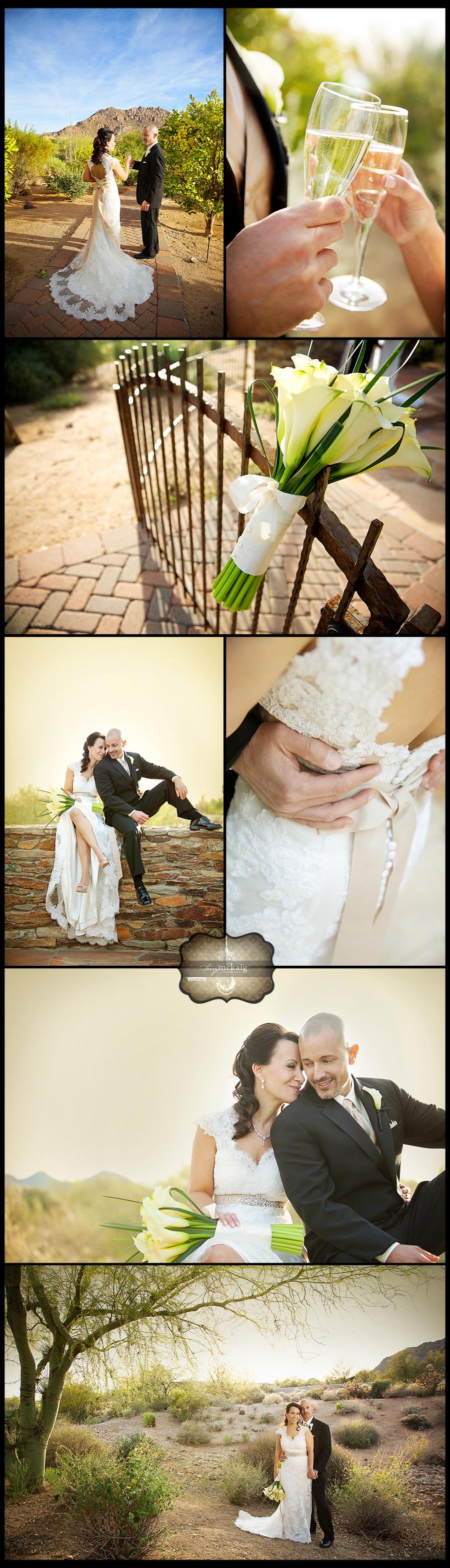Sassi Scottsdale desert wedding Terry McKaig Photography