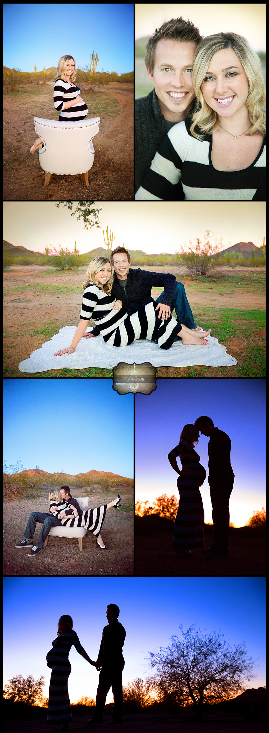 Desert Maternity photos Terry McKaig Photography