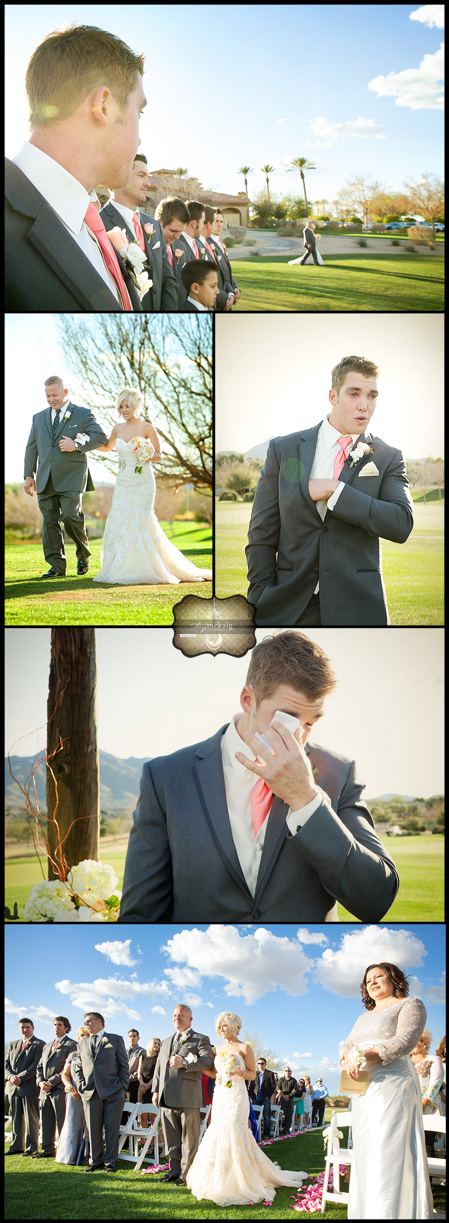 Seville Country Club Terry McKaig Photography elegant desert wedding