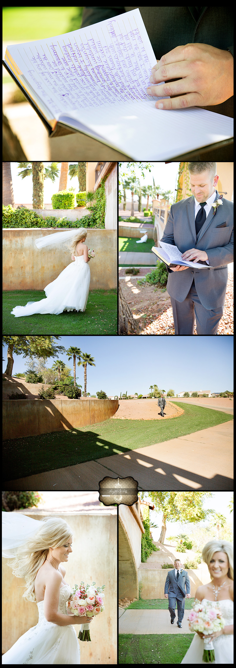 romantic desert wedding Terry McKaig Photography phoenix wedding photographer