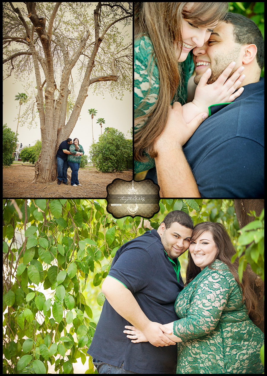 country engagement Phoenix wedding photographer