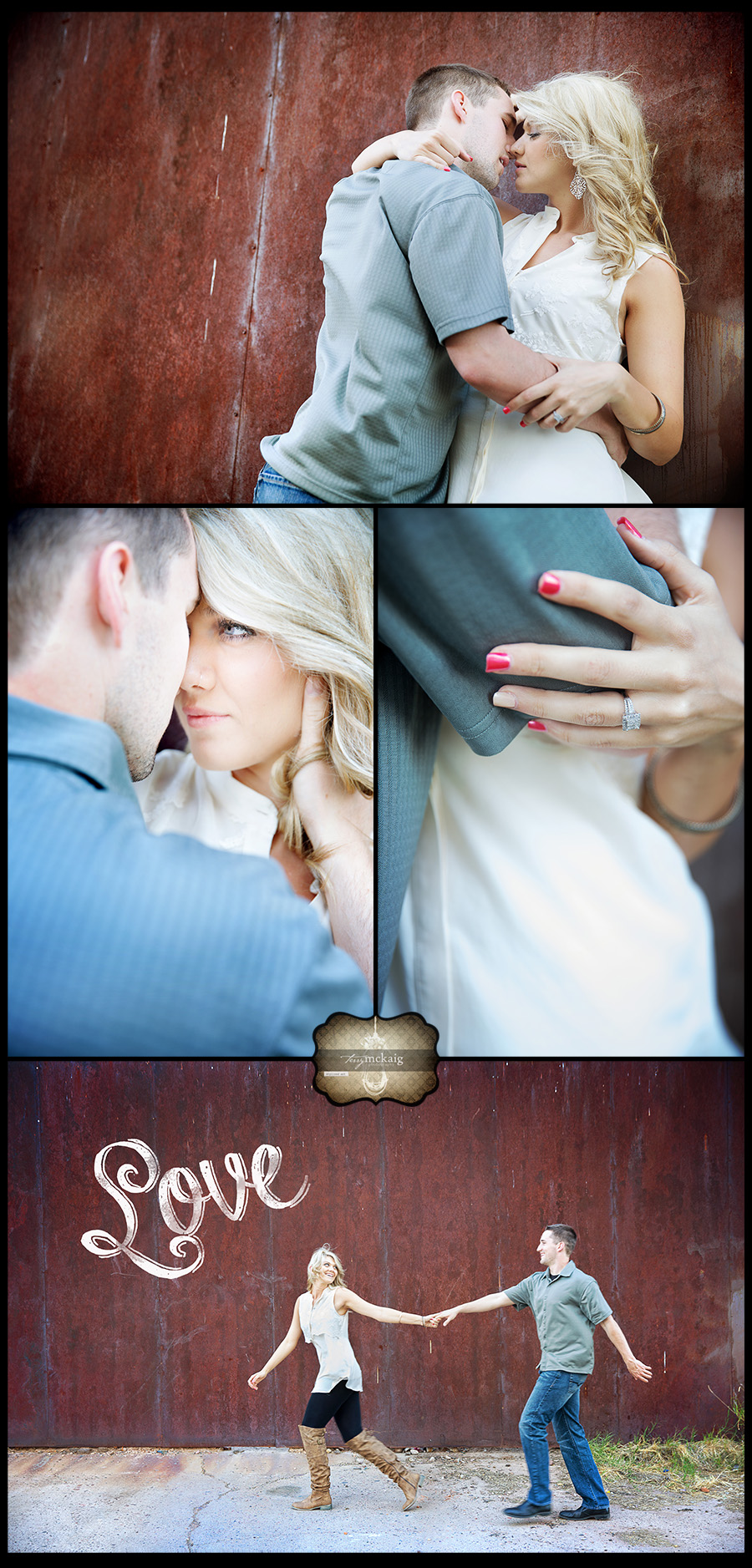 Urban engagement phoenix wedding photographer phoenix engagement photographer