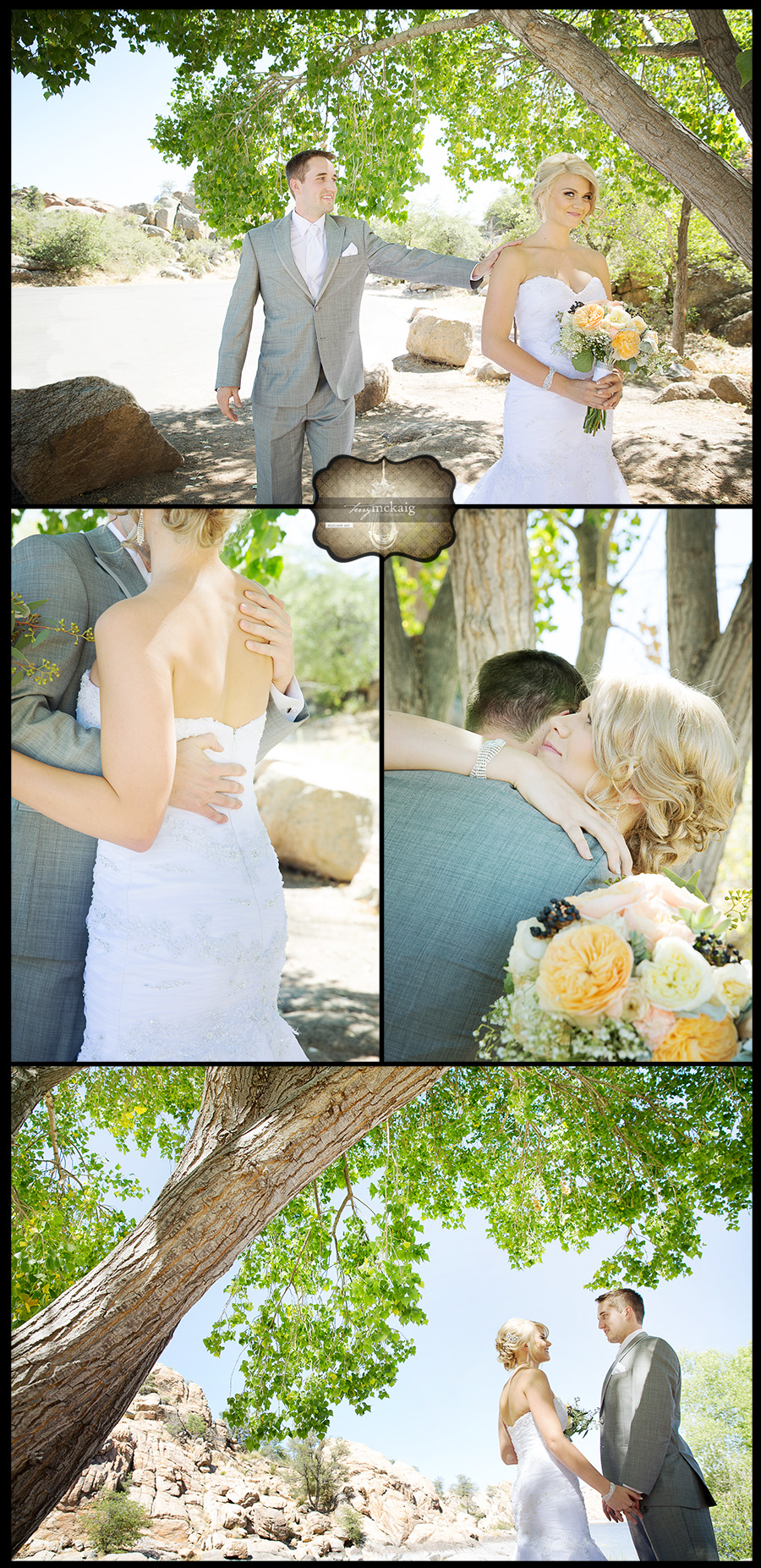 Prescott lake wedding Lake wedding Terry McKaig Photography