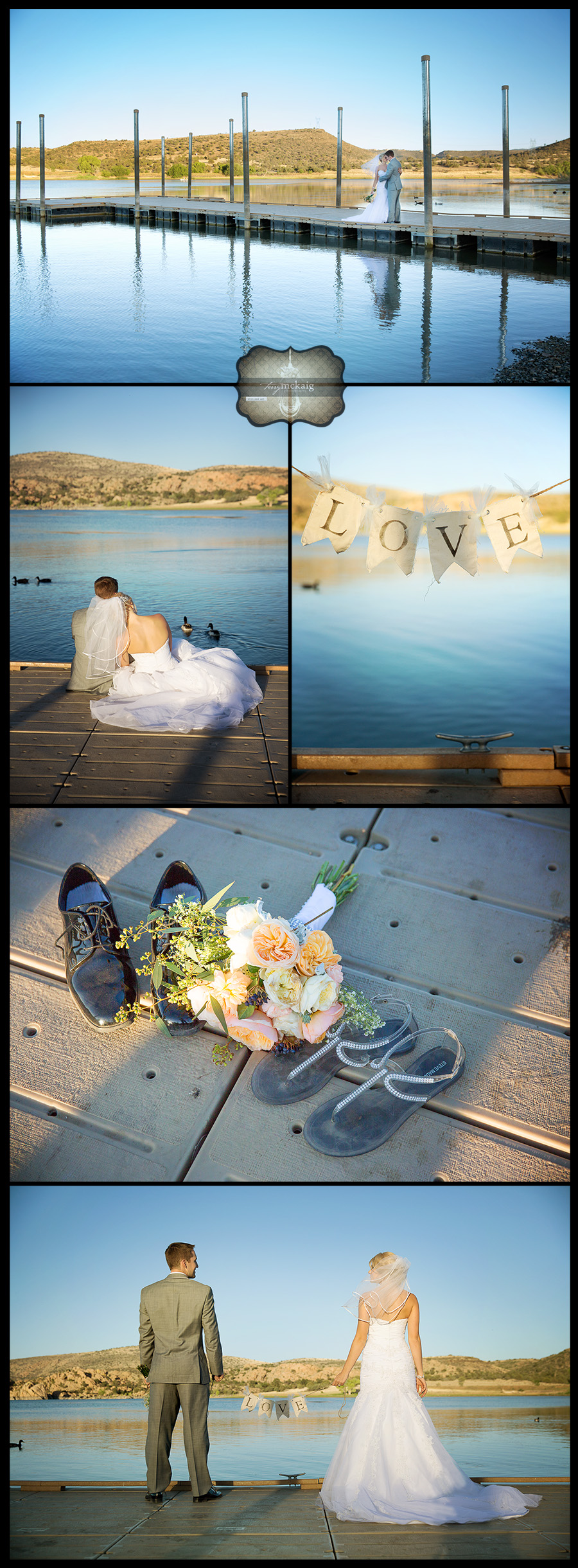 Lake Wedding Prescott Terry McKaig Photography weddings