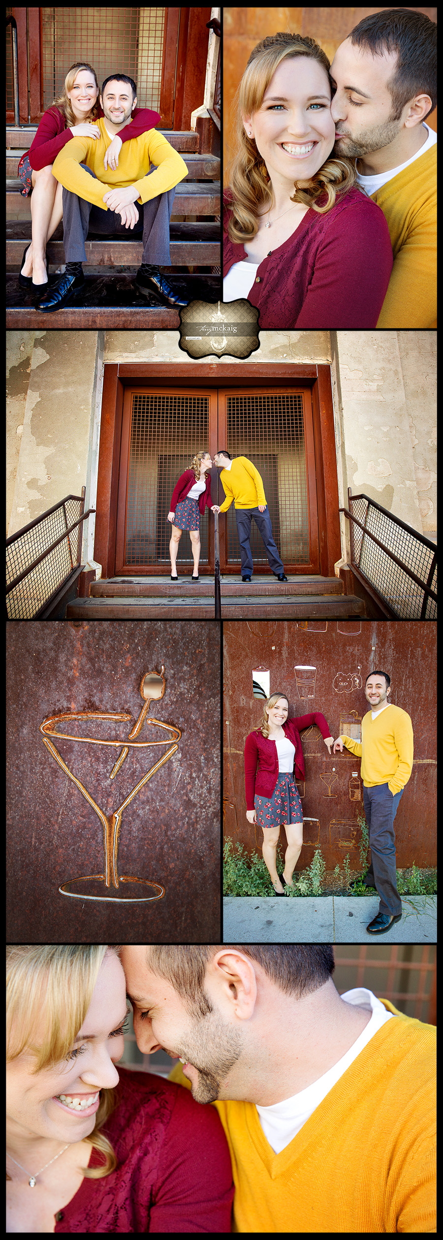 Downtown Phoenix engagement session Terry McKaig Photography wedding photography