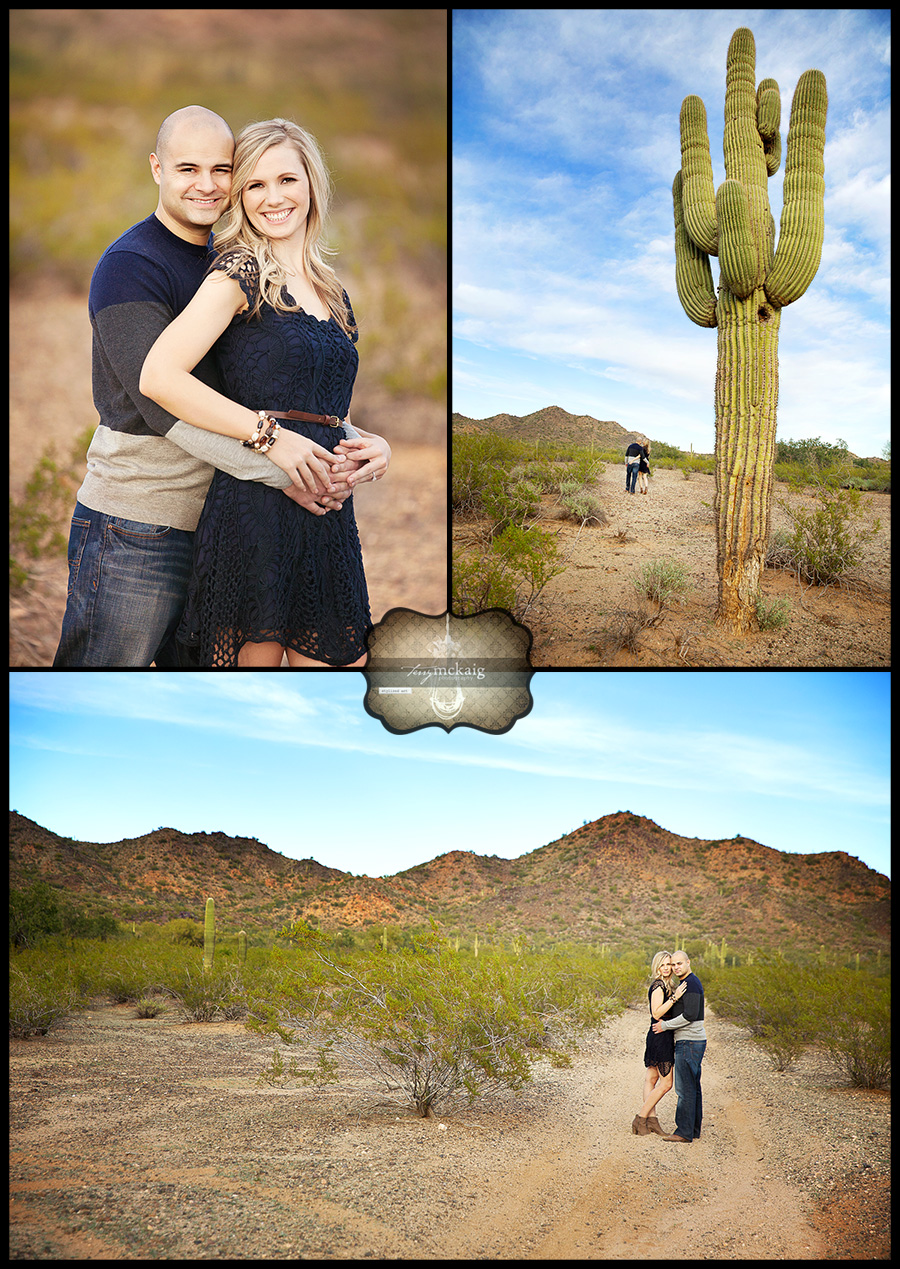 romantic desert engagement Terry McKaig Photography Phoenix AZ