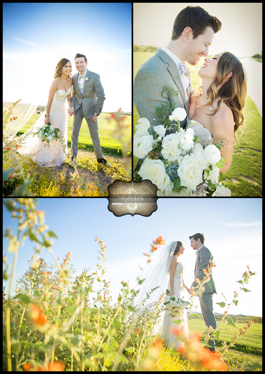 Blackstone Country Club romantic desert wedding Terry McKaig Photography