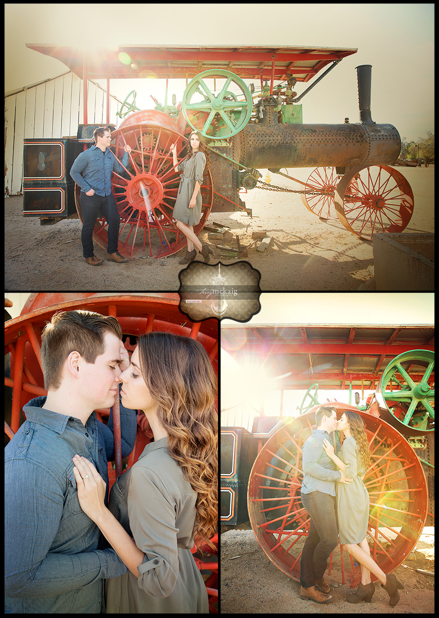 country engagement Terry McKaig Photography Phoenix wedding photographer