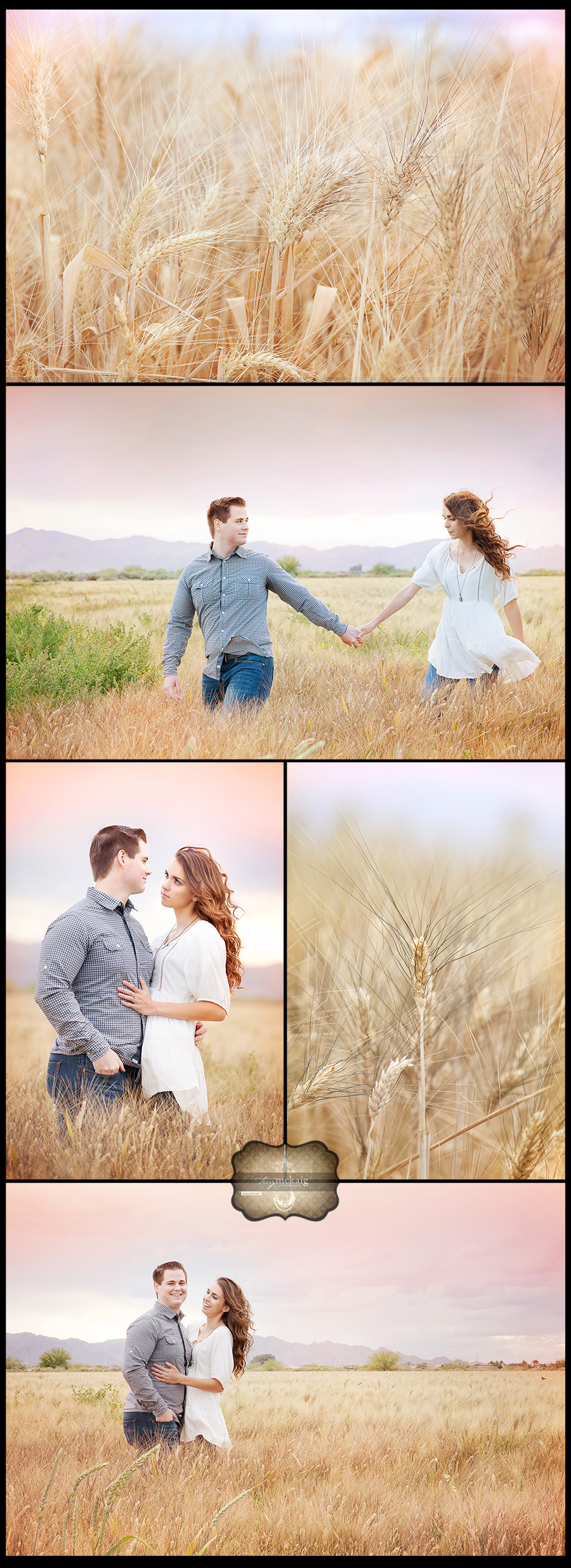 country engagement Terry McKaig Photography weddings Phoenix arizona