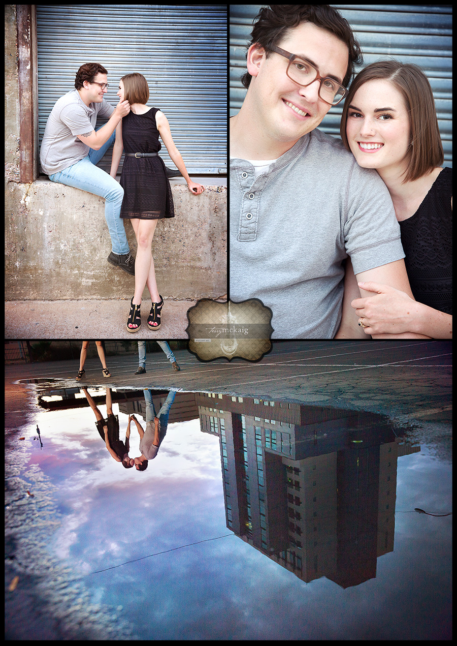 urban engagement downtown Phoenix Terry McKaig Photography weddings