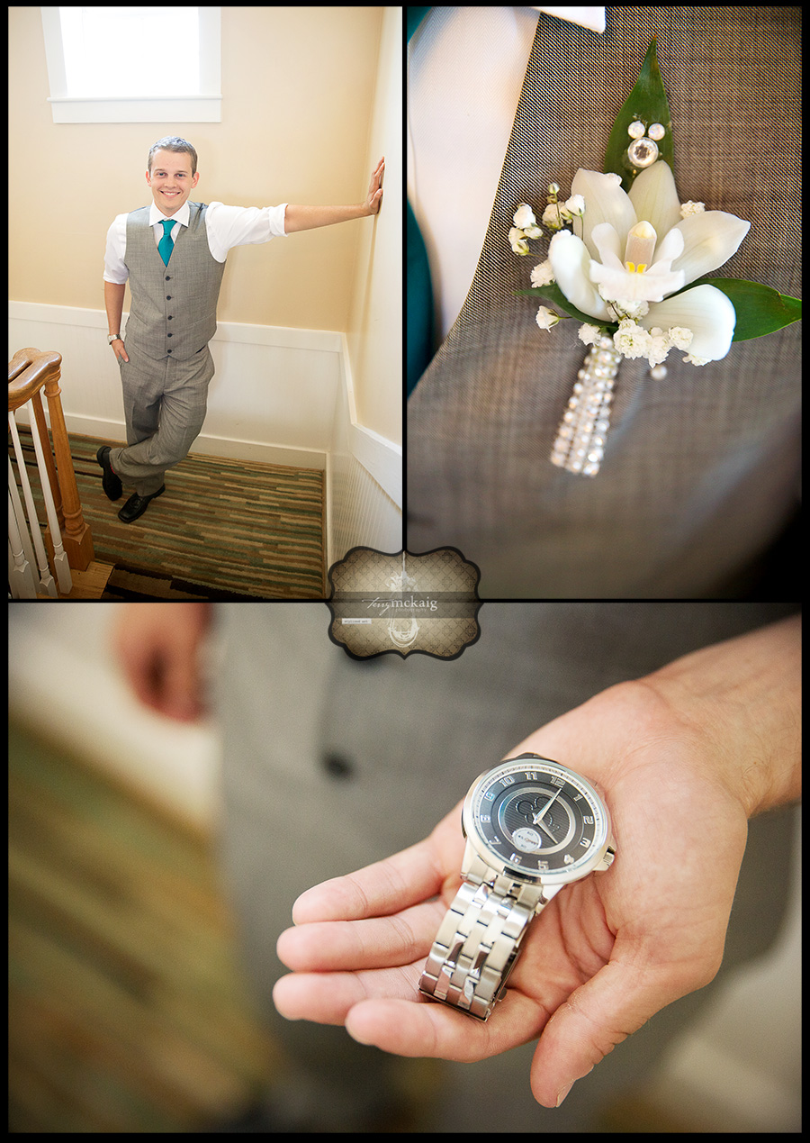 Groom Destin Florida Beach Wedding Terry McKaig Photography destination wedding photographer