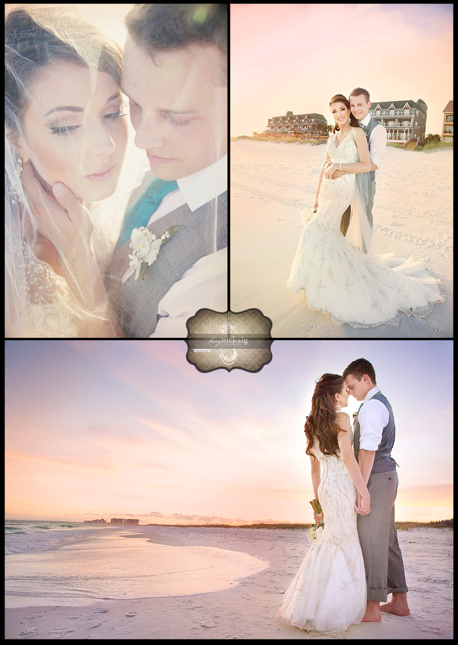 Destin Florida Beach Wedding Terry McKaig Photography Destination Weddings Henderson Inn