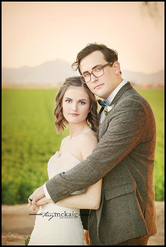 back yard wedding Terry McKaig Photography