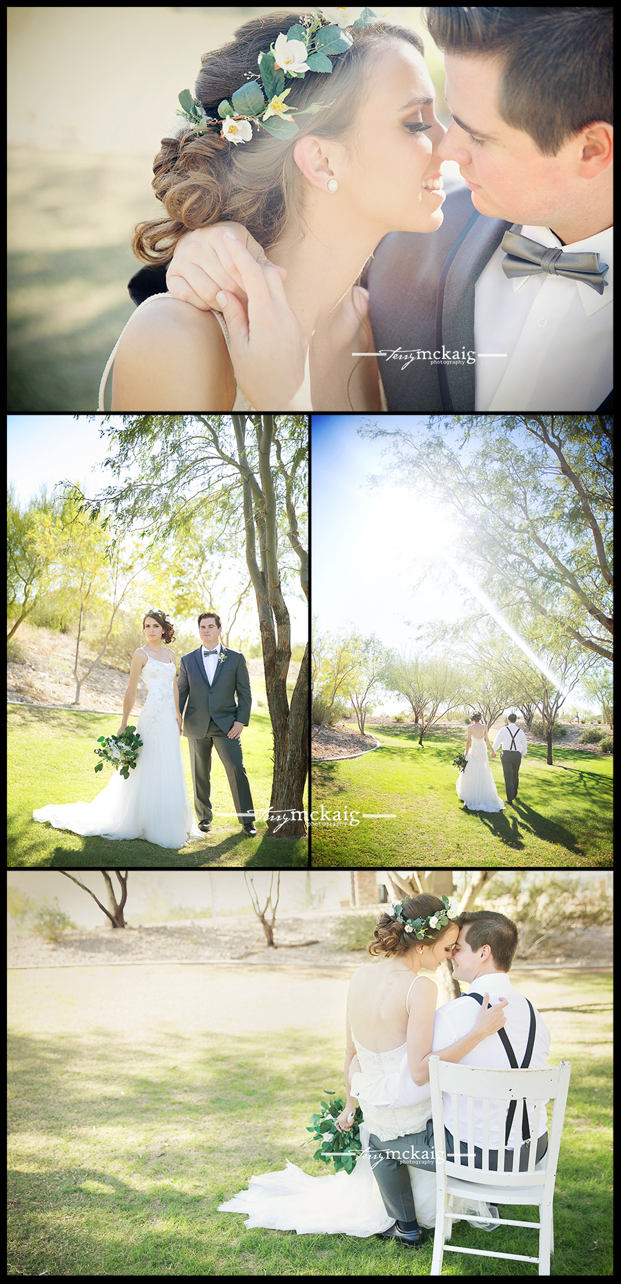 Desert wedding Terry McKaig Photography wedding photography