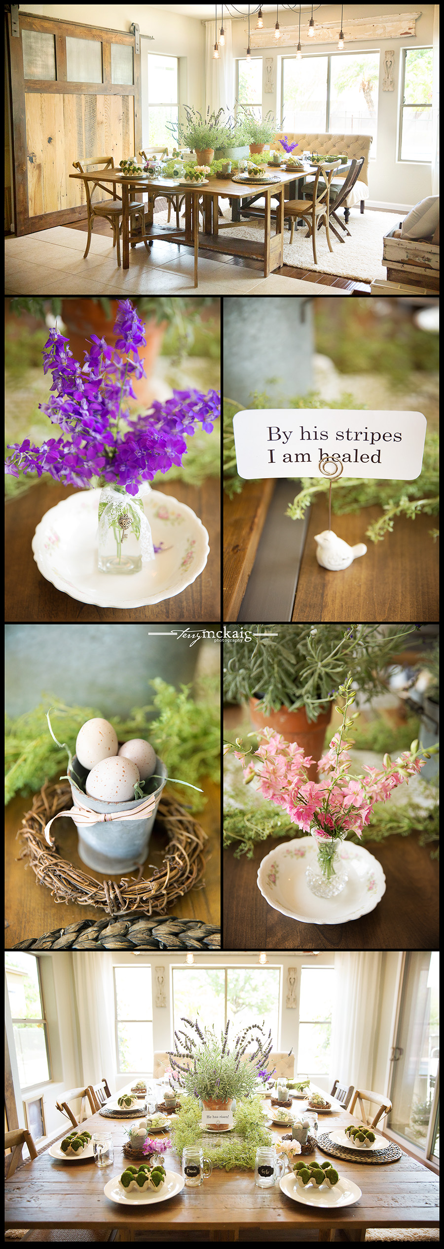 Terry McKaig Photography Easter Decor